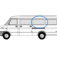 Iveco Daily N/S/M Fixed Window