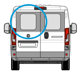 Fiat Ducato Nearside Back Door Glass In Privacy