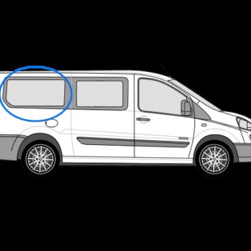 Fiat Scudo O/S/R Fixed Window in Privacy Tint (LWB)
