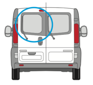 Vauxhall Vivaro Nearside Back Door Glass In Privacy Tint